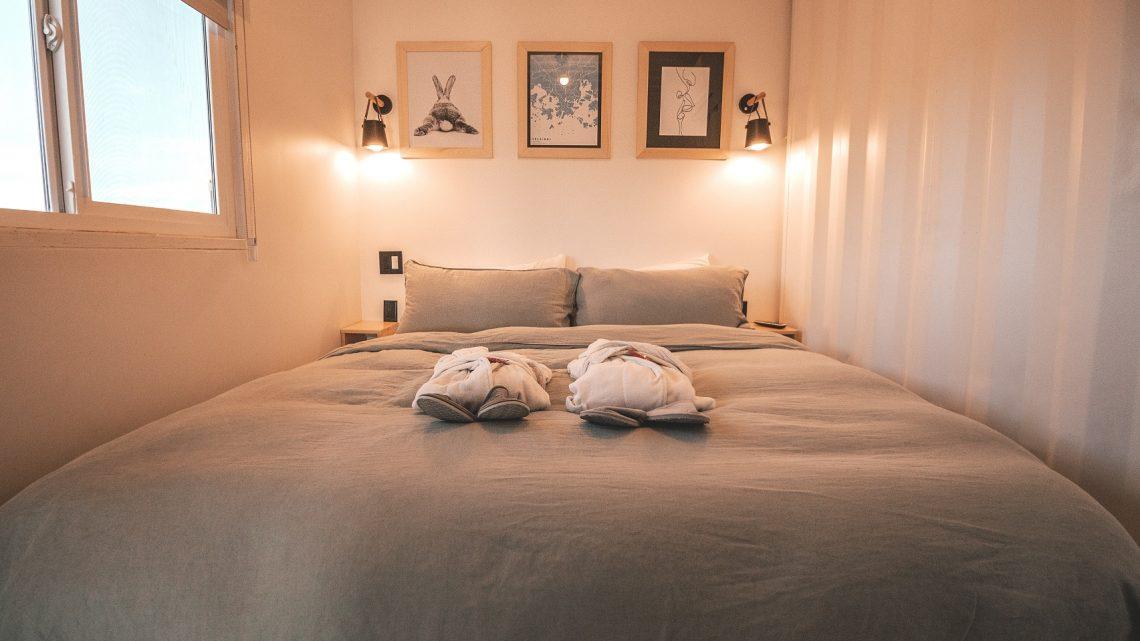 Omgaan met de kleine slaapkamerruimte